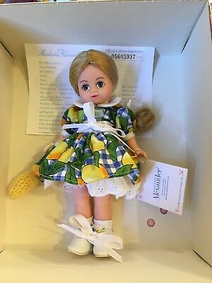 "Madame Alexander 8"" Doll Lemon Pie Wendy #27930 Nib"