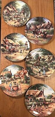 """Wedgwood 'Country Day' series Collectors' Plates   (20 cm/8"""")"""