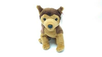 TY Beanie Baby - COURAGE the NYPD Dog (2001) - 9/11 Tribute