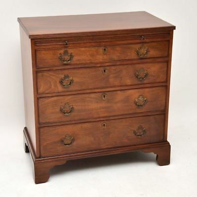 Small Antique Mahogany Bachelors Chest of Drawers