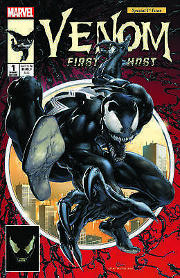 Venom First Host 1 Nycc Rare Exclusive Crain Variant Vf/nm  Spiderman 300 Homage
