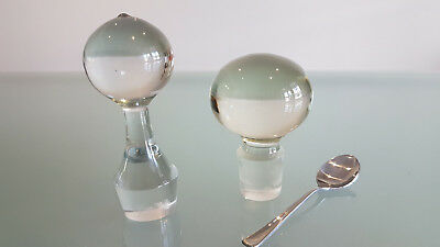 2 Decanter Stoppers. Both In Perfect Condition.