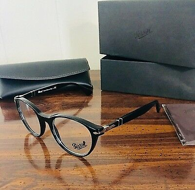 f17073f074 AUTHENTIC PERSOL EYEGLASSES PO3153V 1012 Gray Green Frames 50MM Rx ...