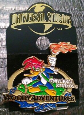 Universal Studios Woody Woodpecker Collectible Pin Authentic Original Vintage A
