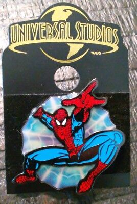 Universal Studios Spiderman Collectible Pin Authentic Original Vintage Rare B
