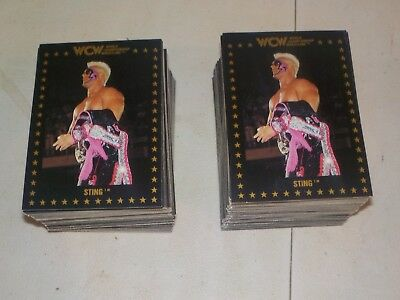 1991 WCW Championship Marketing Complete 110 Card Set #1-110 Lot of 2 Sets Nice!
