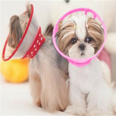 Pet Elizabethan E-collar Wound Healing Protection Cone Dog Smart Collar Filmy