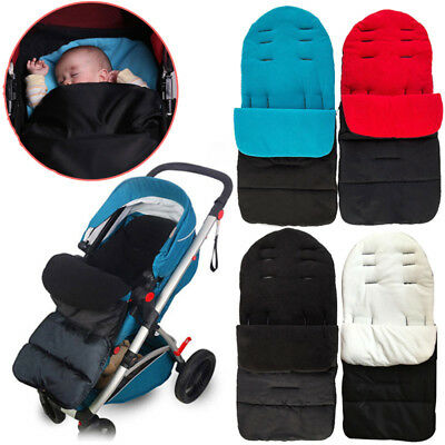 Winter Warm Universal Baby Luxury Stroller Cosy Toes Liner Buggy Padded Footmuff