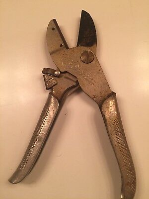 WISS Hy-Power No 908 Garden cutter pruning shears, snips, vintage