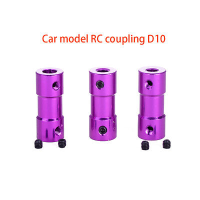 Aluminum Alloy RC Model Car Boat Joint Coupling Coupler Motor Connector D10L25