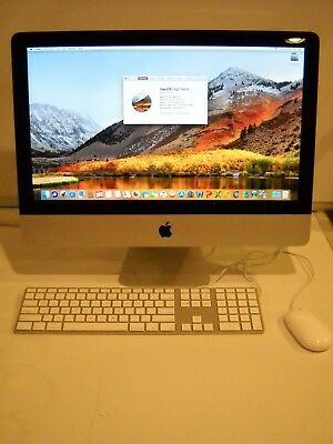 "Apple iMac 21.5"" Desktop MC309LL/A May, 2011 Core i5 2.5 GHz 4GB Ram 500GB A1311"