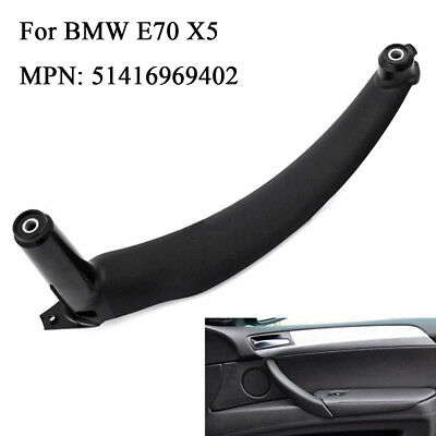 Car Interior Door Handles Inner Door Panel Handle Pull Trim Cover For BMW E70 X5