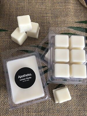 Wax Melts LEMON MYRTLE Highly Scented - Natural Soy Wax