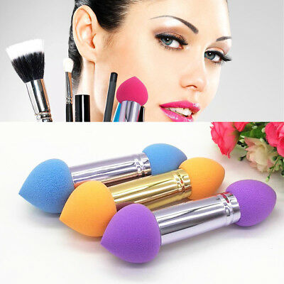 Beauty Cosmetic Makeup Foundation Sponge Blender Smooth Double Head Powder Puff