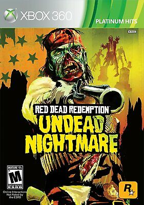 Red Dead Redemption: Undead Nightmare (Xbox 360) BRAND NEW & FACTORY SEALED!!!!!