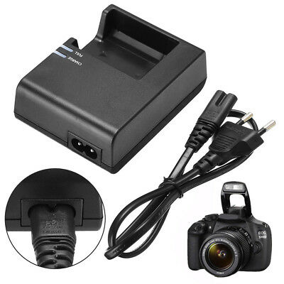 For Canon EOS 1100D 1200D Kiss X50 Rebel T3 LC-E10C Battery Charger Adapter