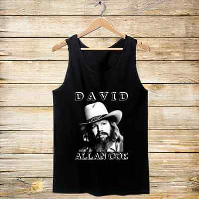 David Allan Coe Poster Tank Top Mens