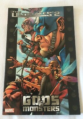 The Ultimates 2  GODS & MONSTERS Marvel  Graphic Novel Book