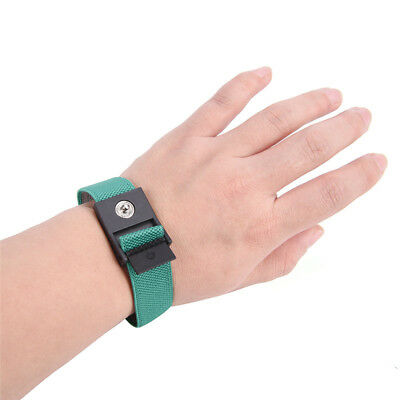 Anti Static Cordless Bracelet Electrostatic ESD Discharge Cable Band Wrist HCUK
