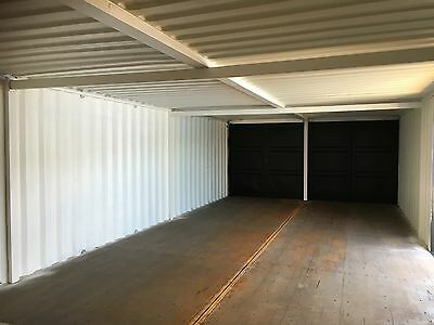 40 x 16 ft Container Workshop..Strengthened, with free anti condensation paint.