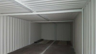 40 x 16 Linked Container Workshop.. Strengthened with anti condensation.