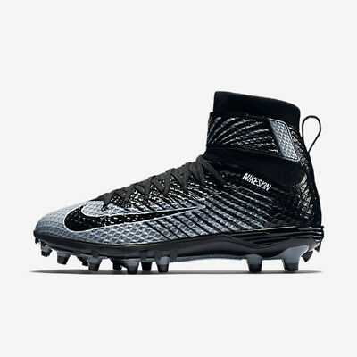 differently fb0a2 31eeb Chaussures Sports, vacances Nike Hommes Lunarbeast Pro D Football Cale  Blanc Noir Taille 10