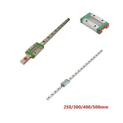 12mm Miniature Linear Slide Rail Guide + MGN12H Sliding Block DIY for 3D Printer