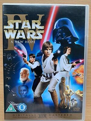 STAR WARS A NEW HOPE ~ 1977 Theatrical + Special Editions 2 Disc UK DVD