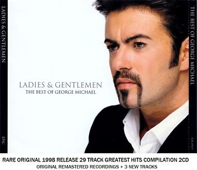 George Michael The Very Best Greatest Hits Collection RARE 1998 2CD 80's 90's