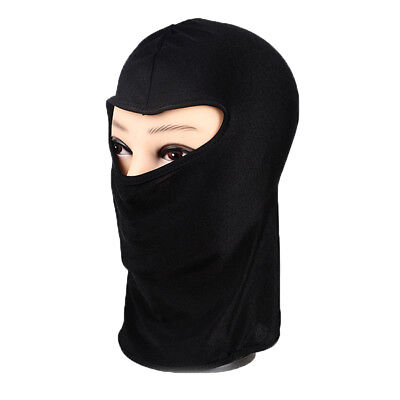 Outdoor Ski Motorcycle Cycling Balaclava Lycra Full Face Mask Neck Ultra Thin US