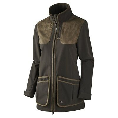 Seeland Winster Softshell Jacket Lady with SEETEX Membrane - Black Coffee