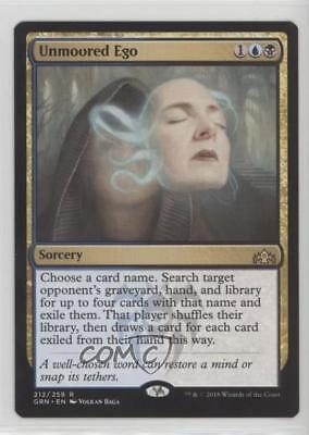 2018 Magic: The Gathering - Guilds of Ravnica Base Set 212 Unmoored Ego Card 0ep