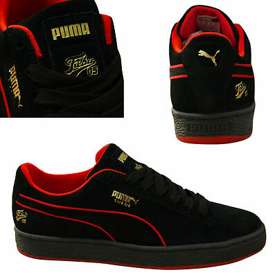 Puma Suede Classic x Fubu Lace Up Mens Trainers Leather Black 366320 02 Q4B 5a522917d