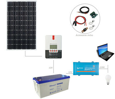 regler Charge Und Batterie Agm 20ah segel Solar 30w 12v Mit Kit