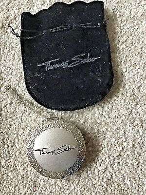 Thomas Sabo compact mirror. New with pouch