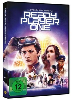 Ready Player One | DVD | deutsch | NEU | 2018 | Zak Penn, Ernest Cline