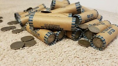 Unopened / Unsearched Buffalo Nickel / V Nickel Roll 1883 - 1938 ESTATE HOARD