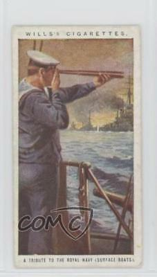 1917 Wills Britain's Part in the War Tobacco Royal Navy (Surface Boats) #3 2h8