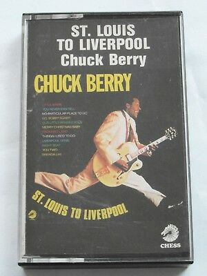 Chuck Berry - St. Louis To Liverpool - Cassette Tape, Used Good
