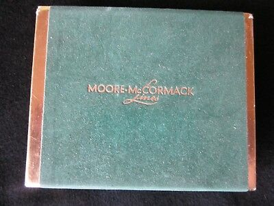 Moore McCormack Lines Playing Cards. Double Deck