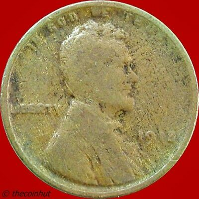 1918 P Penny Copper Lincoln Wheat Cent Coin US Mint Coins Coinhut5025