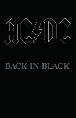 AC DC Back in Black Cassette RSD 2018 NEW