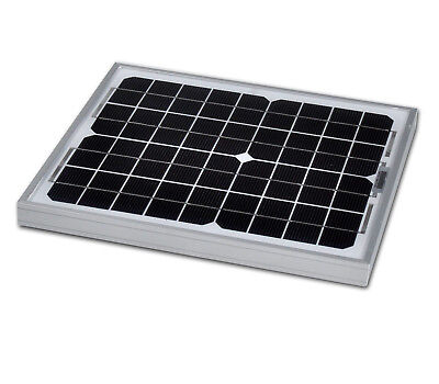 Panel solar photovoltaic 10W 12V Single-crystal one (10 watts)