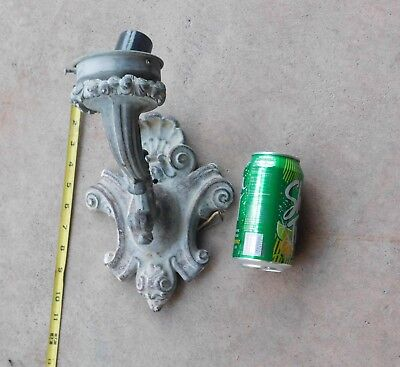 Antique  Light Fixture Ornate Victorian  Wall Mount Vintage Electrical Hardware