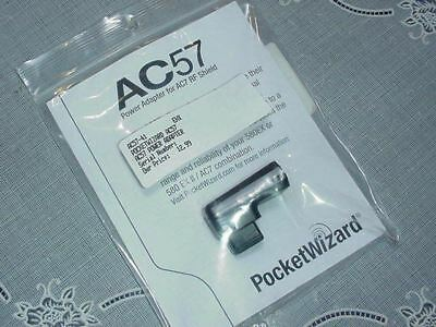 Pocket Wizard AC57 Power Adapter for AC7 RF Shield NEW IN PACKAGE!