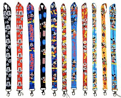 Disney Mickey Mouse Lanyards with Clip - ID / Badge Holder ~ Brand NEW Lanyard