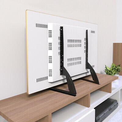 Thickend SPCC Steel Universal TV Stand Base Mount Holder for Samsung LG 27-55""