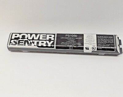 Power Sentry Ps1050 Led Emergency Driver 10W 50Vdc Reduced Profile 1.5 Hr