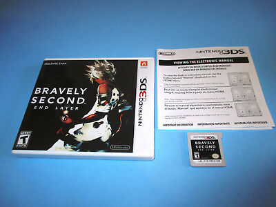 Bravely Second: End Layer Nintendo 3DS XL 2DS Game w/Case & Insert