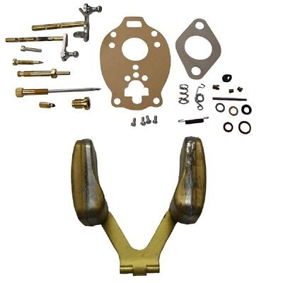 9N9550A & TSX241 Ford / New Holland 2N 8N 9N Tractor Complete Carb Kit w/ Float